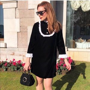 Zara Dresses - •SOLD•🎉HOST PICK🎉 BLOGGERS FAV ZARA VELVET DRESS
